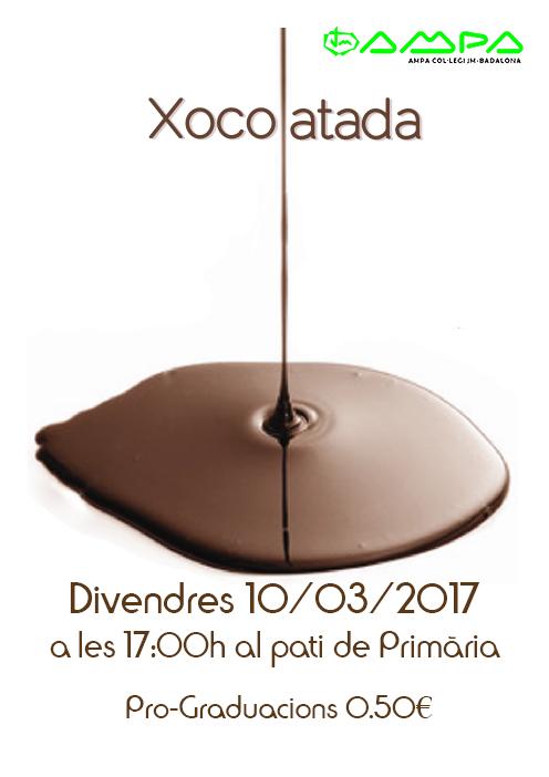 cartell-xocolatada-ampa2017